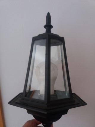 Aplique iluminación exterior
