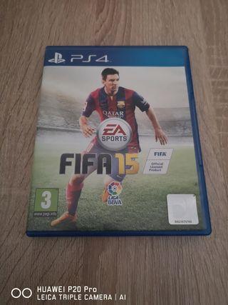Fifa 15 y Fifa 16 PS4