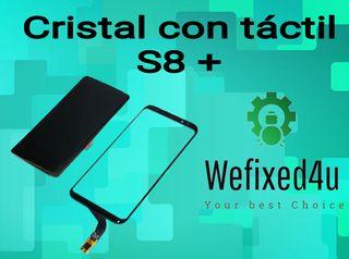 CRISTAL CON TÁCTIL S8+