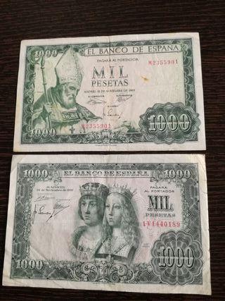 lote 1000 pesetas