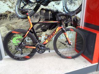 Bicicleta giant propel sl talla m/l