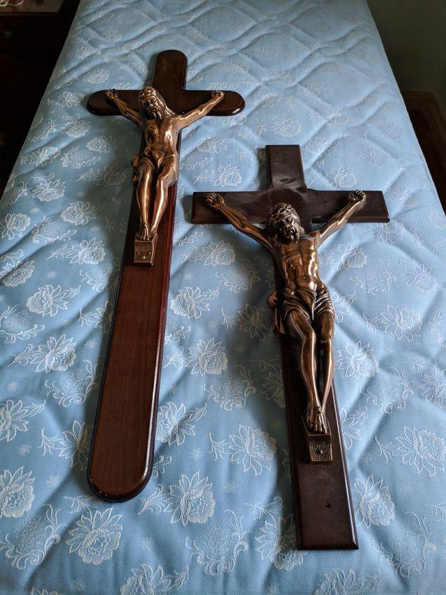 Pack de cuatro crucifijos