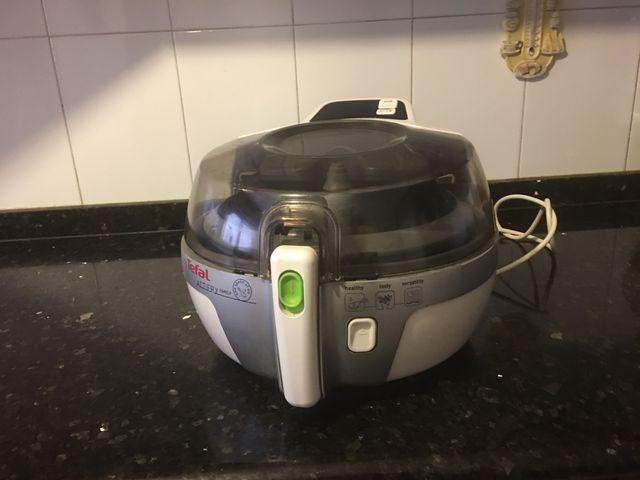 Freidora sin aceite tefal actif frit 2 en 1