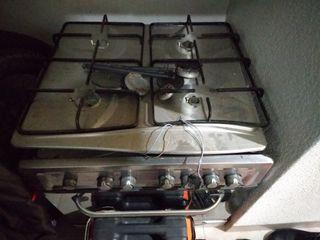 Horno balay con encimera de gas aluminio