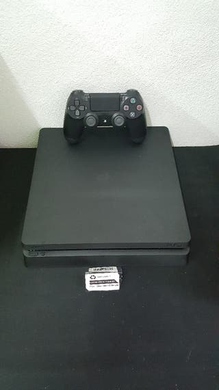 Ps4 Slim 500 Gb Negra Completa