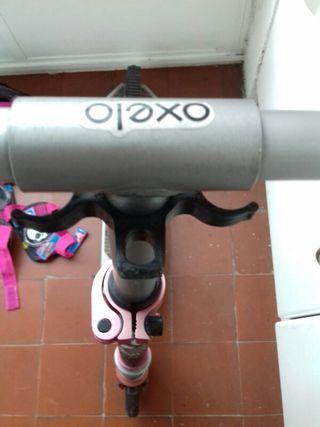 patinete niña con accesorios