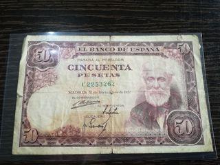 50 pesetas 1951