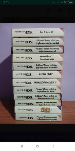 juegos Nintendo DS 2 DS Y 3DS