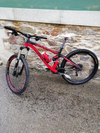 Bicicleta de enduro bh lynx
