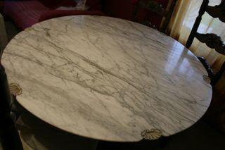 Mesa de marmol siglo 18