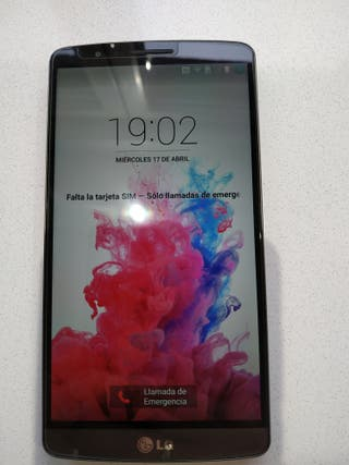 LG G3 impecable