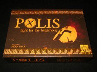 Polis Lucha por la hegemonía (español) juego mesa