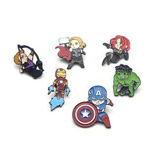 pins super héroes