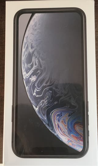 Iphone XR Negro 64gb precintado factura