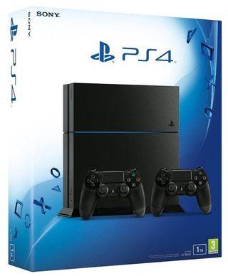 PS4 (1tb, dos mandos)