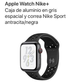 Apple Watch 4 nike+ cellular + gps en garantía