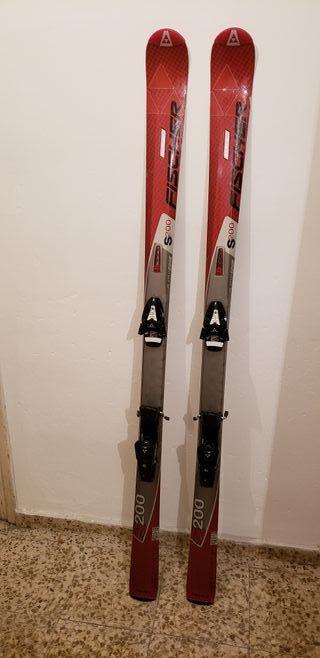 Tablas de esquí Fischer S200 170cm