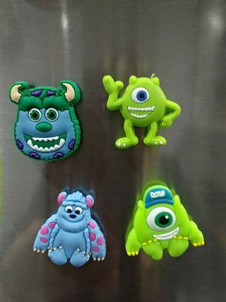 4 imanes nevera Monsters