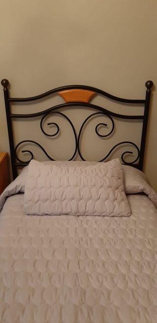 Dos cabeceros de cama de 90