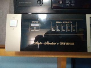 Studio-Standar by Fisher (Ampli+Tocadiscos+Radio)