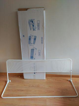 valla protectora cama blanca