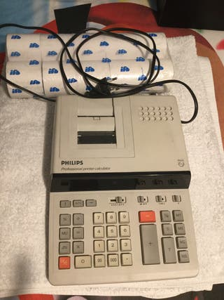 Calculadora registradora Philips