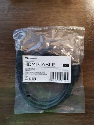 Cable HDMI a HDMI de 1,5 metros