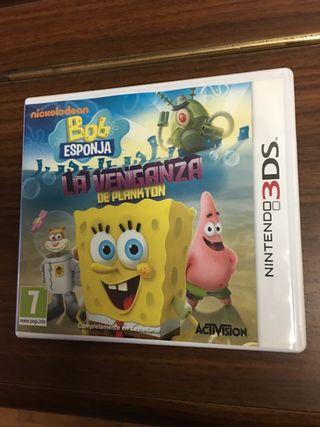 Juego Bob Esponja Nintendo 3DS