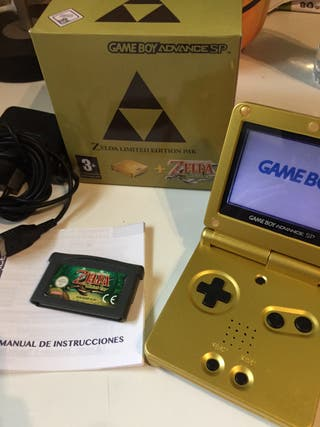 Game Boy Advance sp Edición Zelda