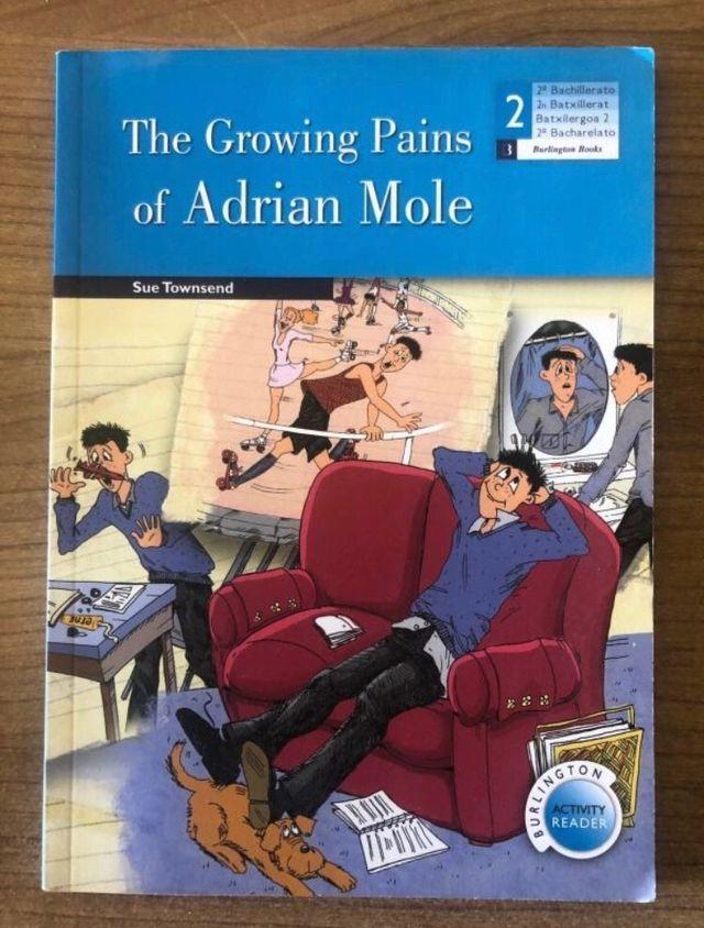 Libro en inglés The growing pains of Adrian Mole