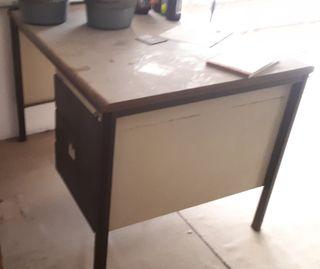 Mesa despacho vintage