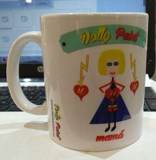 """¡¡CHOLLO!! Taza de la marca""""DOLLY PAINT"""" Dia MADRE"""