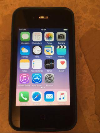 iPhone 4S cargador y funda