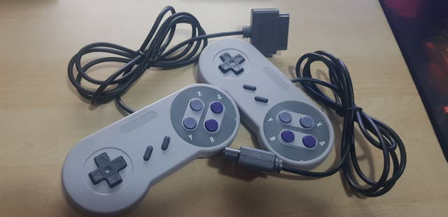 2x Mandos nuevos compatibles Super Nintendo