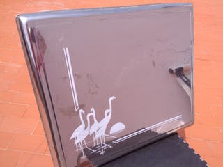 Tapadera plateada para placa/encimera de cocina