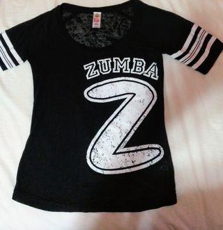 Camiseta Zumba S Original Negra