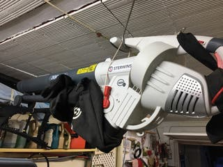 Soplador-aspirador de hojas de 3.000w