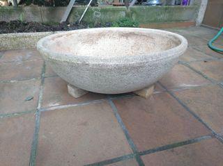 Macetero/Tiesto Ceramica/Piedra GRANDE