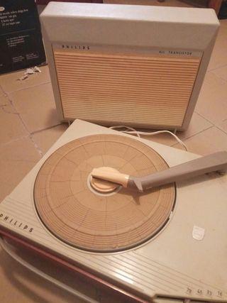 Tocadiscos Philips All Transistor