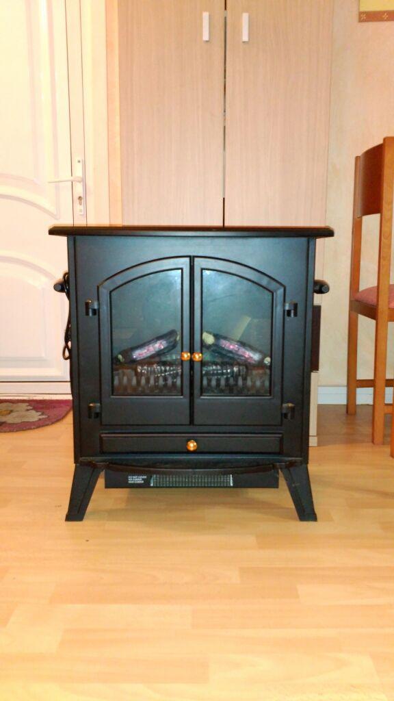 estufa eléctrica ( chimenea eléctrica)