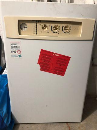 Caldera de agua caliente y calefaccion de gas