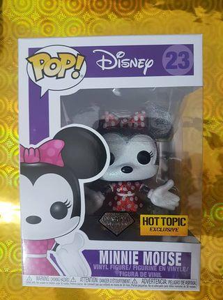 Minnie Mouse Glitter Disney Funko Pop