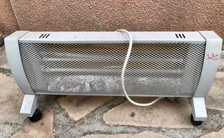 Estufa eléctrica de dos tubos 1.400 W