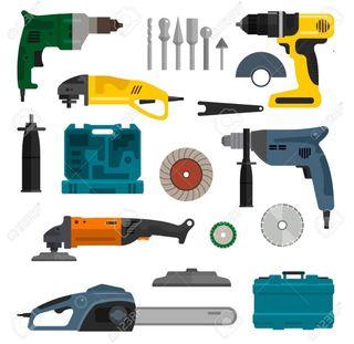 Reparación de herramientas electricas.