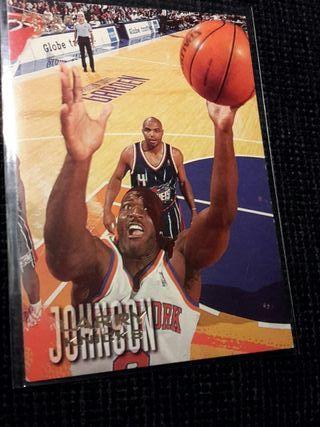Card Larry Johnson NBA Fleer/Skybox 1997
