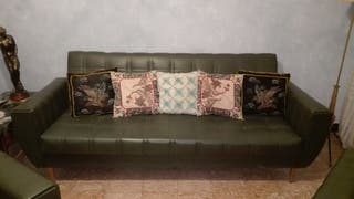 Sofa cama/ 2 sillones
