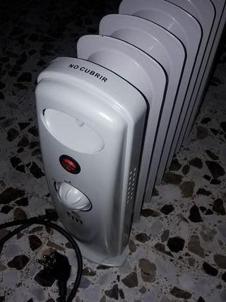 Estufa radiador de aceite de pequeño tamaño