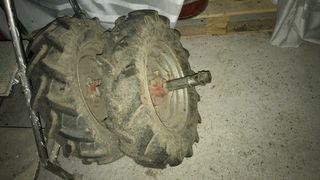 ruedas motocultor