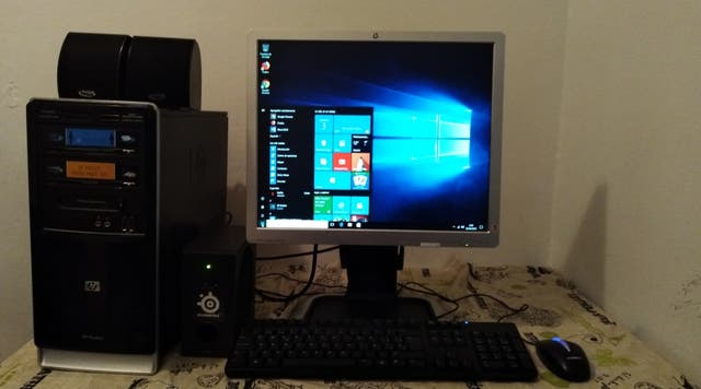 Ordenador de Torre HP+Ram 6gb+DD500HDMI+Wi-Fi