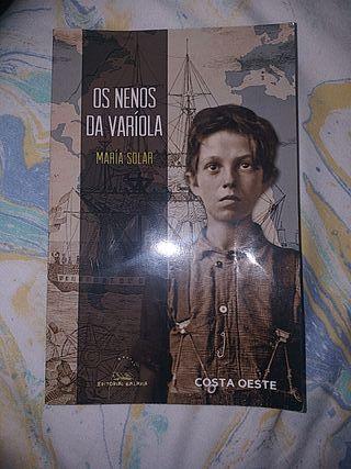 """Libro """"Os nenos da varíola"""" (María Solar)"""